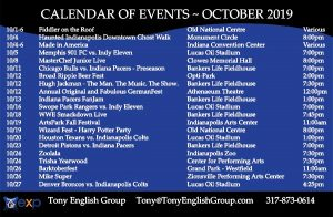 Indianapolis October events